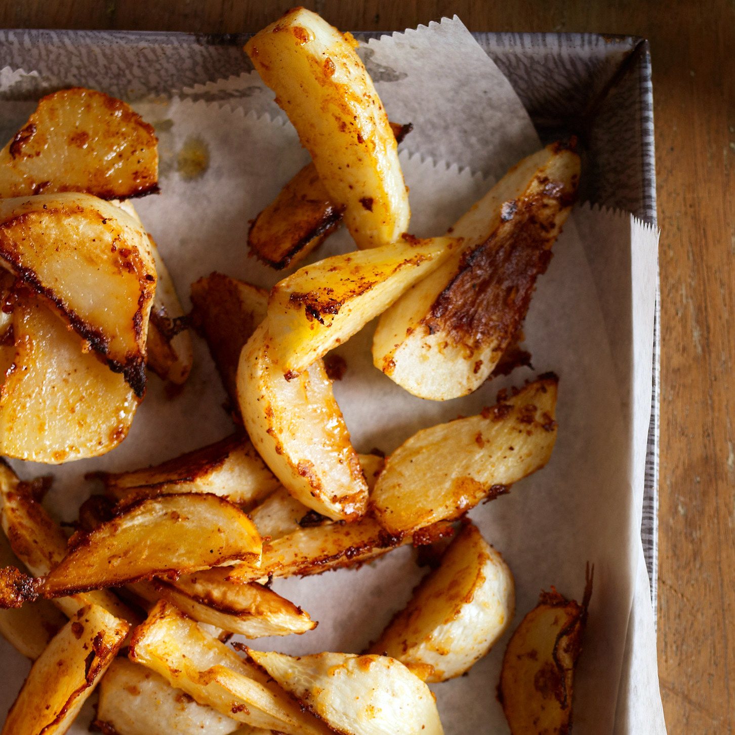 Roasted Turnips With Parmesan