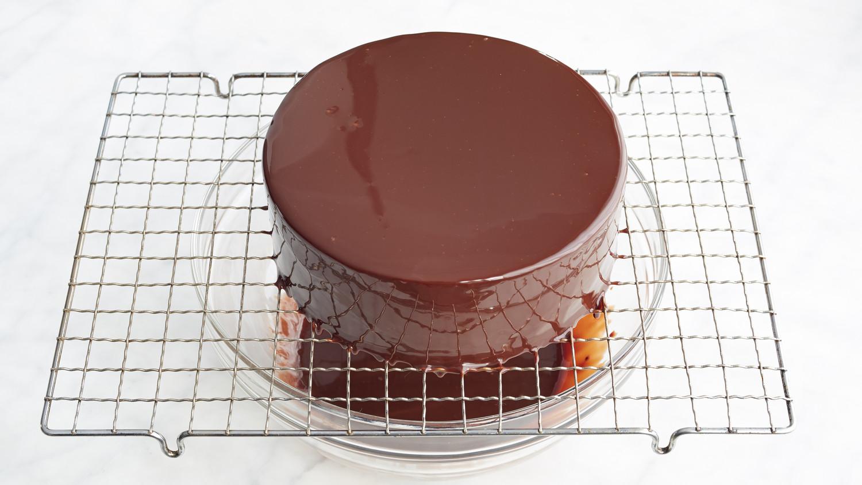 Jacques Torress Shiny Chocolate Glaze Recipe  Martha Stewart