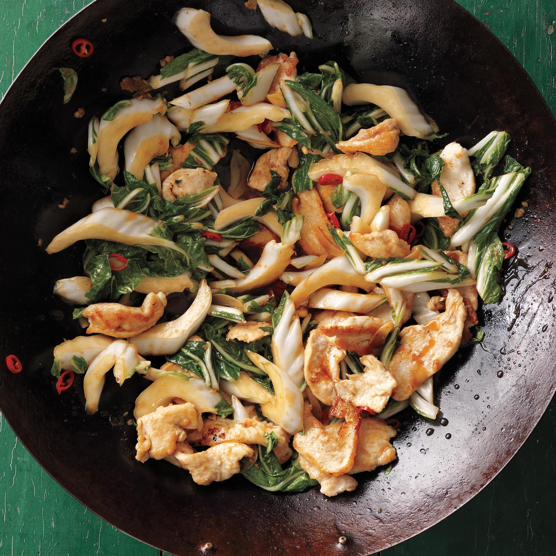 StirFried Chicken with Bok Choy Recipe  Martha Stewart