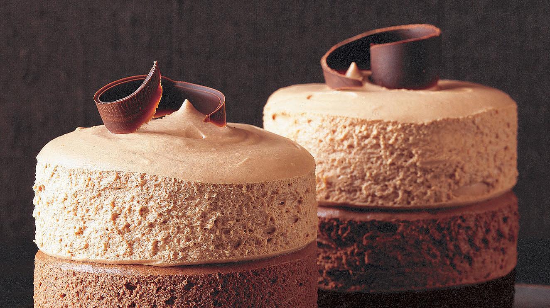 TripleChocolate Mousse Cakes Recipe  Martha Stewart
