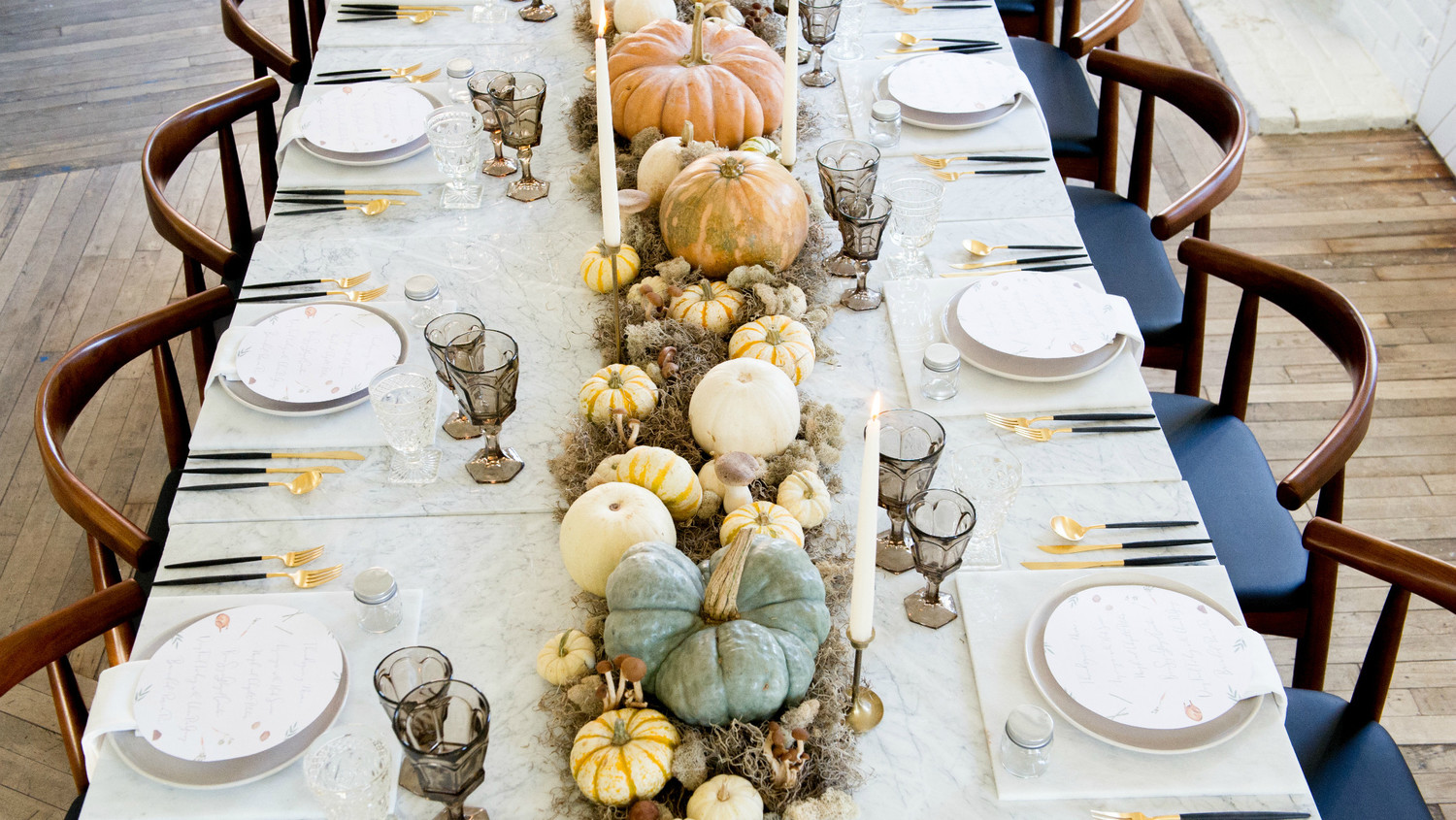 Ideas For A Modern Thanksgiving Table