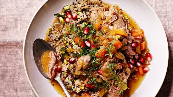 Slow-Cooker Persian Lamb Stew