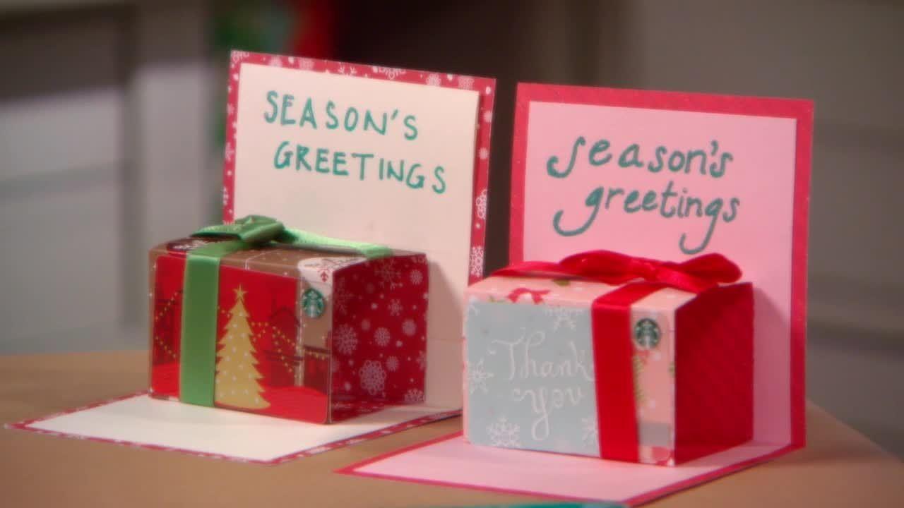 Video How To Make A Pop Up Gift Card Holder Martha Stewart