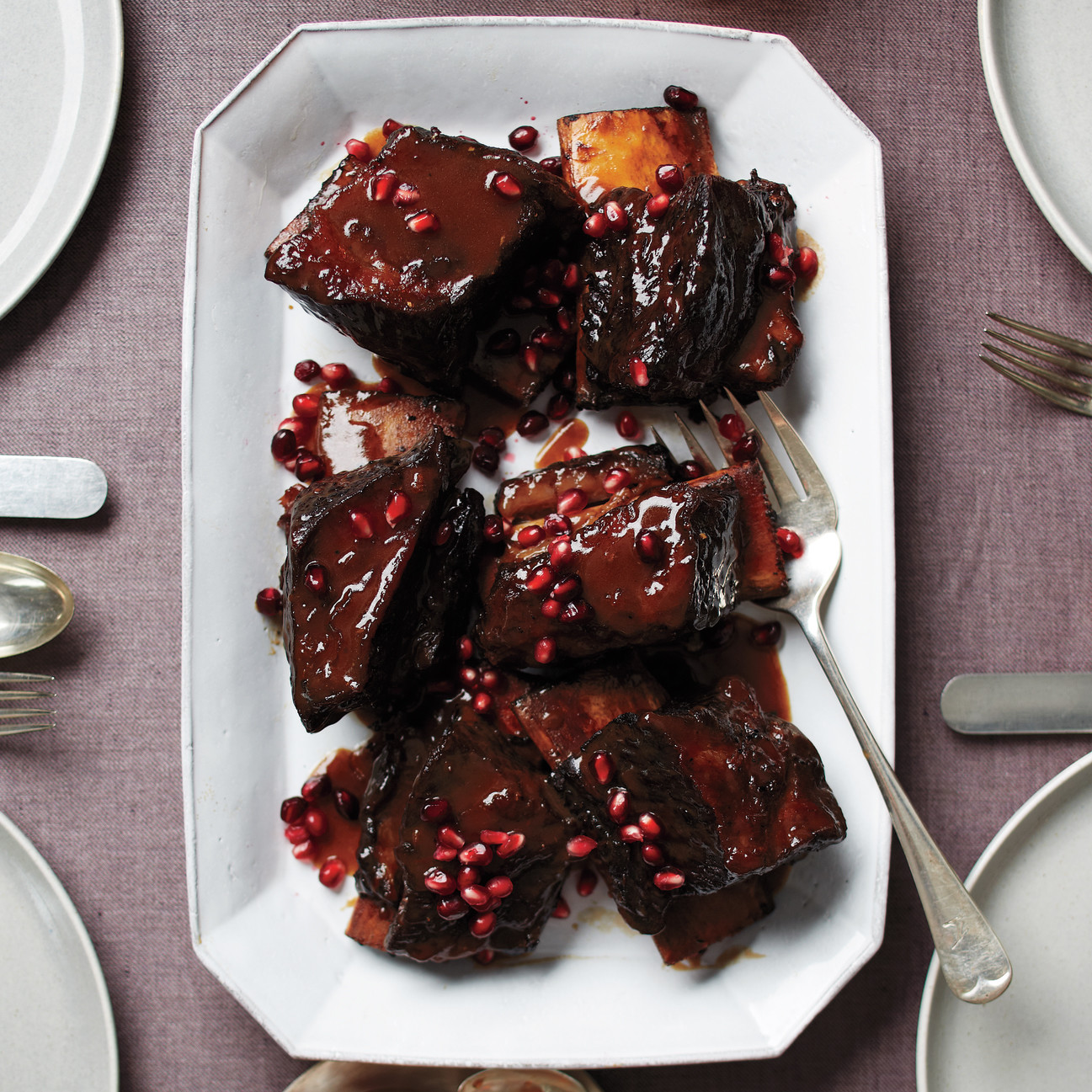 PomegranateBraised Short Ribs