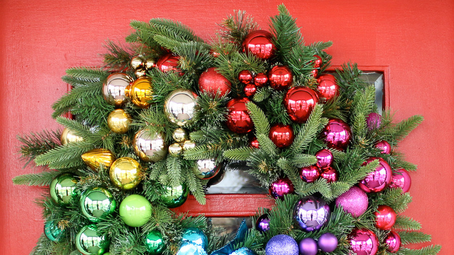 3 Colorful Ideas For A Rainbow Christmas Martha Stewart