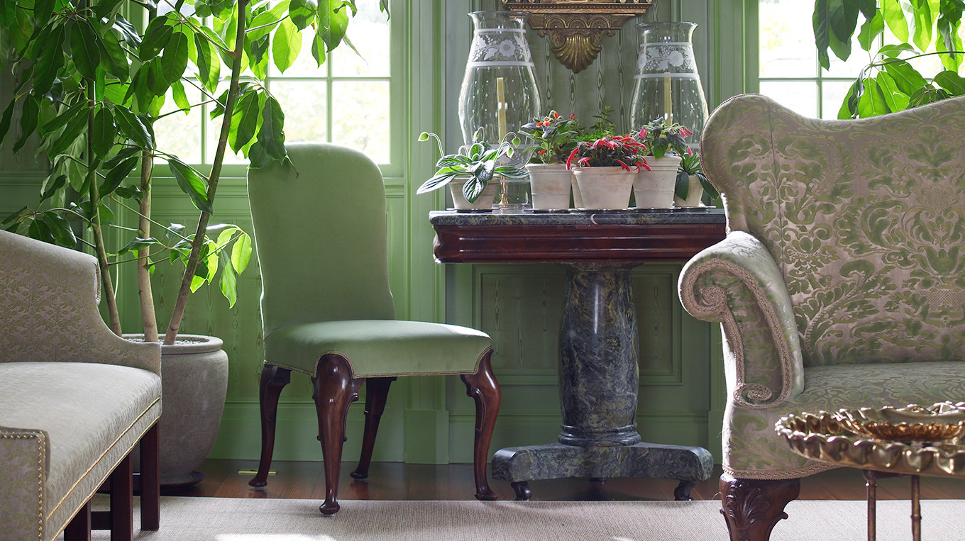 Martha S Green Room In Bedford 5 Ways She Decorates With