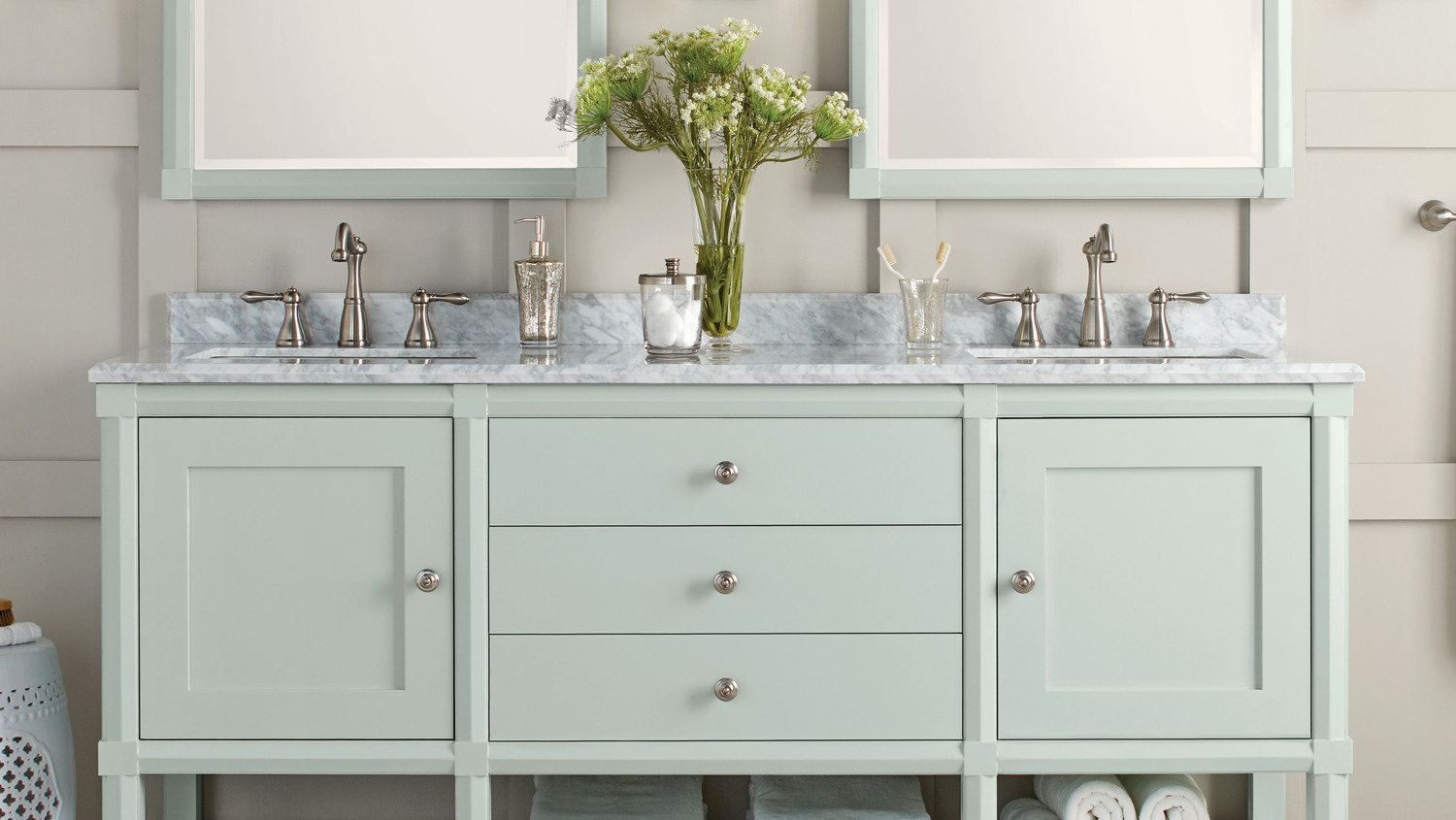 These Bath Vanities Deliver On Storage And Style
