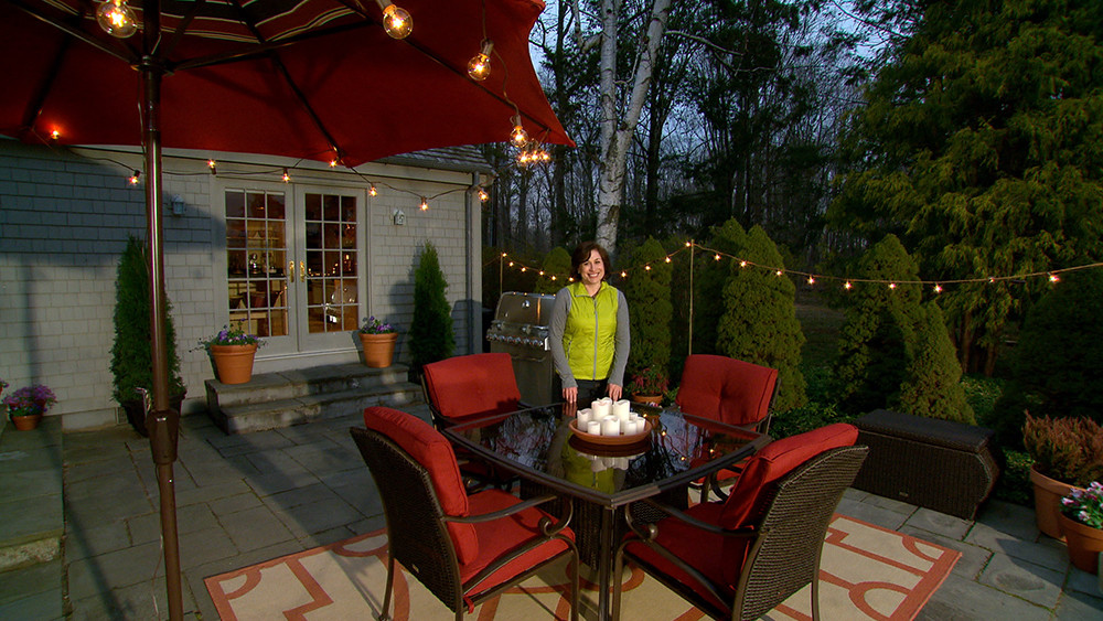 Video Learn Amp Do Lighting Your Patio For Outdoor