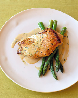 Sauteed Chicken in MustardCream Sauce