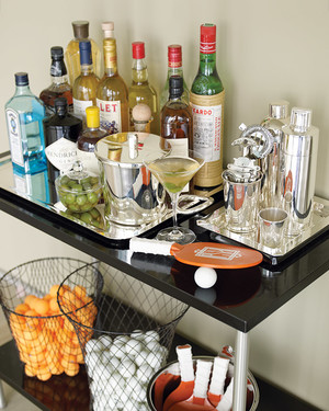 How to Set Up and Stock a Home Bar  Martha Stewart