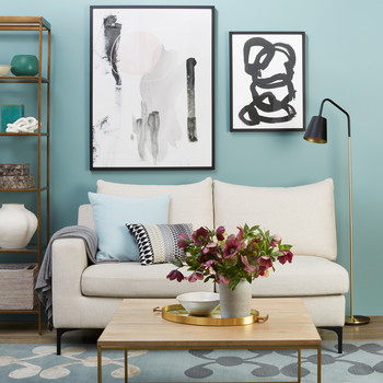 green paint colours for living rooms with dark wood furniture interior colors palettes martha stewart blue room