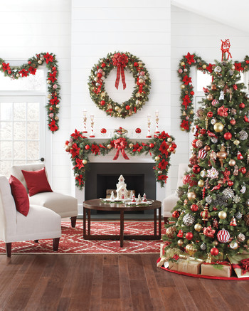 decorate small living room for christmas garage door 25 creative tree decorating ideas martha stewart decorations