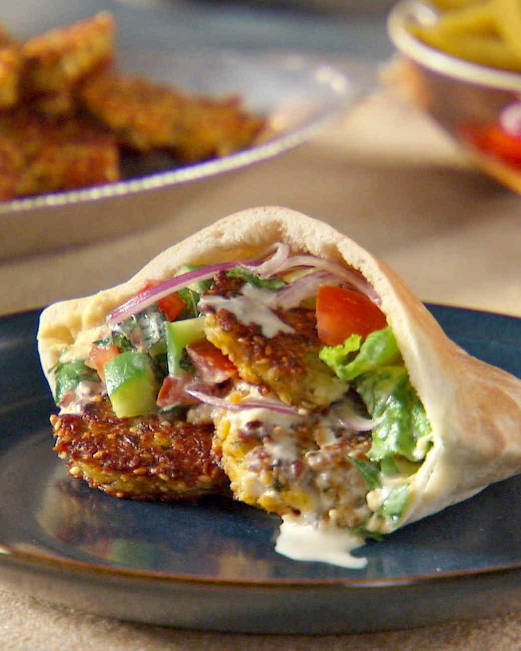 Falafel Recipe Martha Stewart