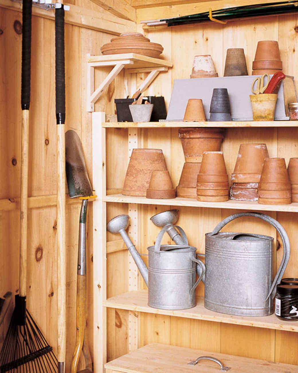 How to Organize the Shed Prepare Compost and Care for