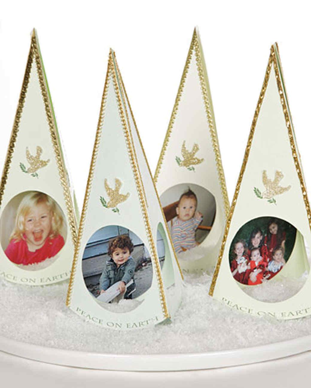 Christmas Tree Photo Cards Martha Stewart