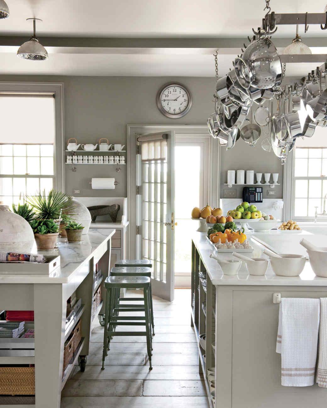 martha stewart kitchen island Martha's 50 Top Kitchen Tips   Martha Stewart