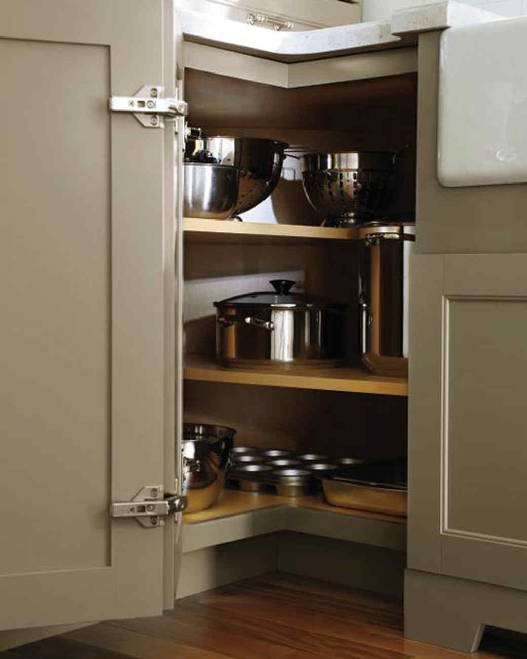 corner kitchen cupboard ideas faucet single hole martha stewart living designs from the home depot