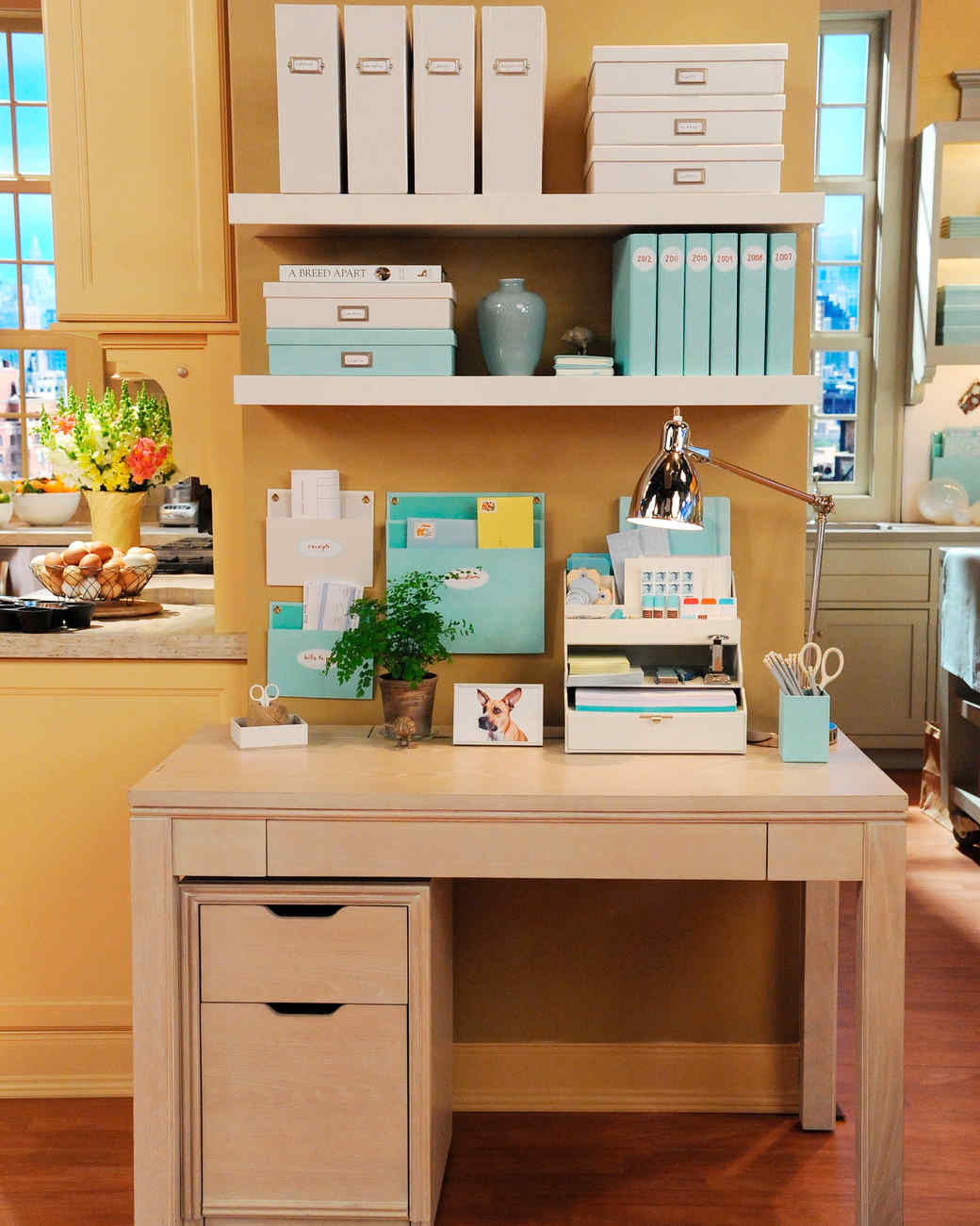 Desks And File Cabinets