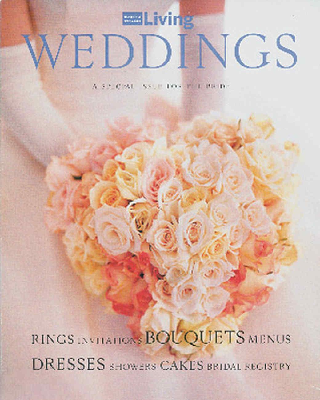 Martha Stewart Weddings Timeline