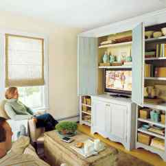 Small Living Room With Tv Ideas Ceiling Pictures Try These 15 Space Saving Decorating Martha Stewart