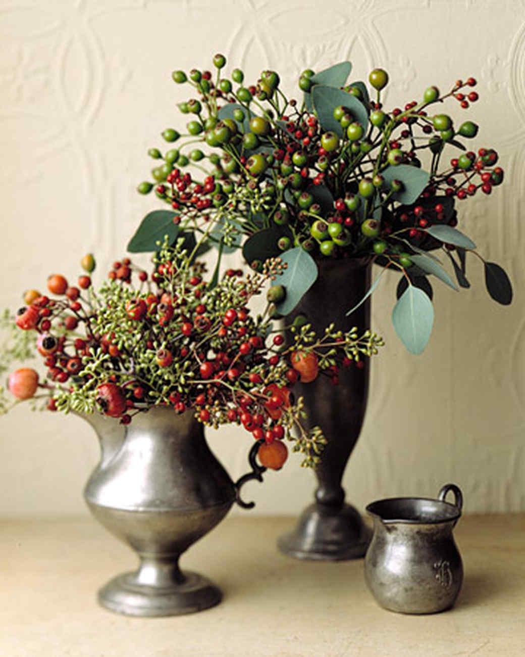 Our Favorite Winter Centerpieces Martha Stewart