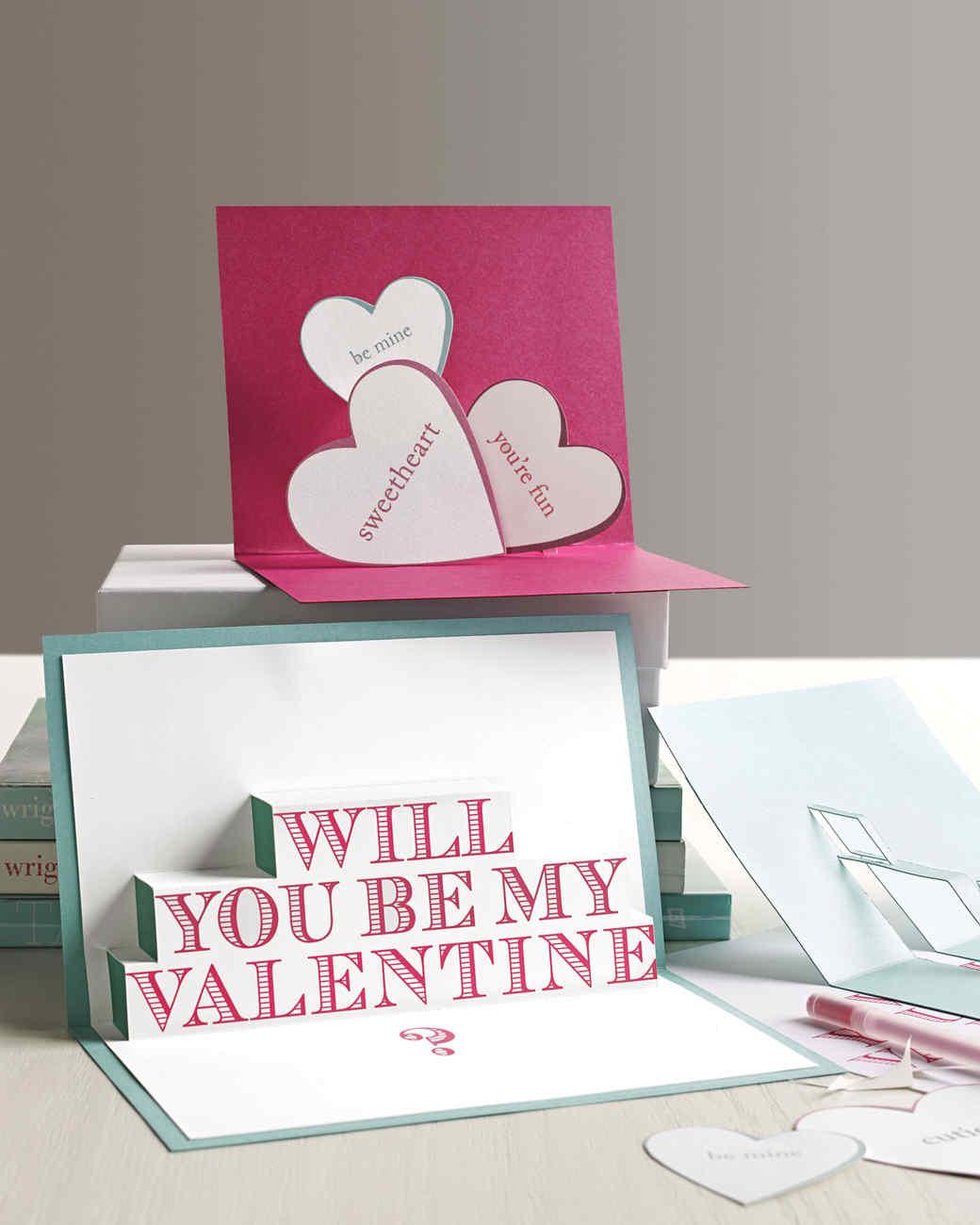 3 D Valentine's Day Cards Martha Stewart