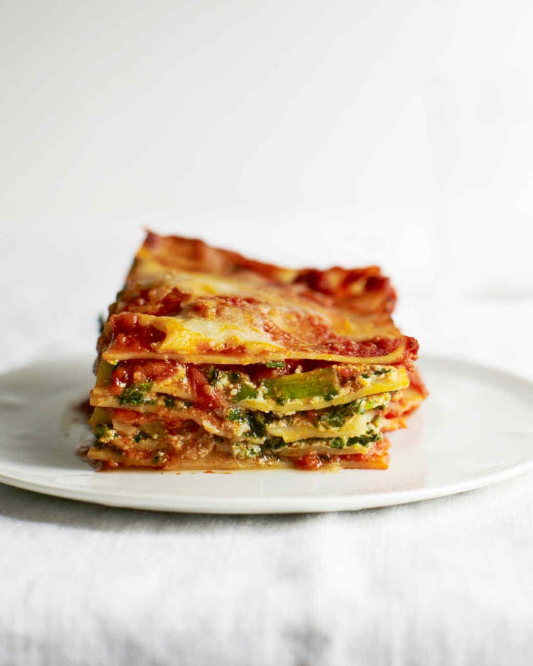 NoBake Grilled Vegetable Lasagna Recipe  Dishmaps