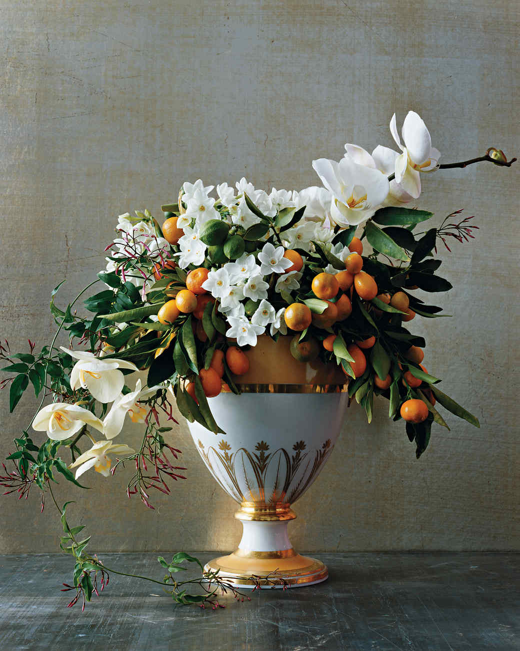 Winter Flower Arrangements Martha Stewart