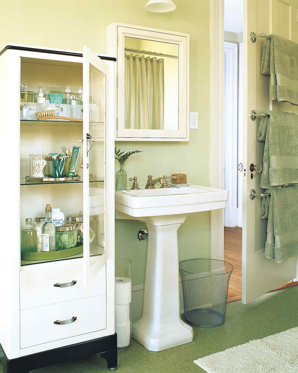 Martha Stewart Bathroom Storage Ideas