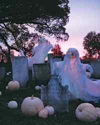 Halloween Ghost Decorations | Martha Stewart