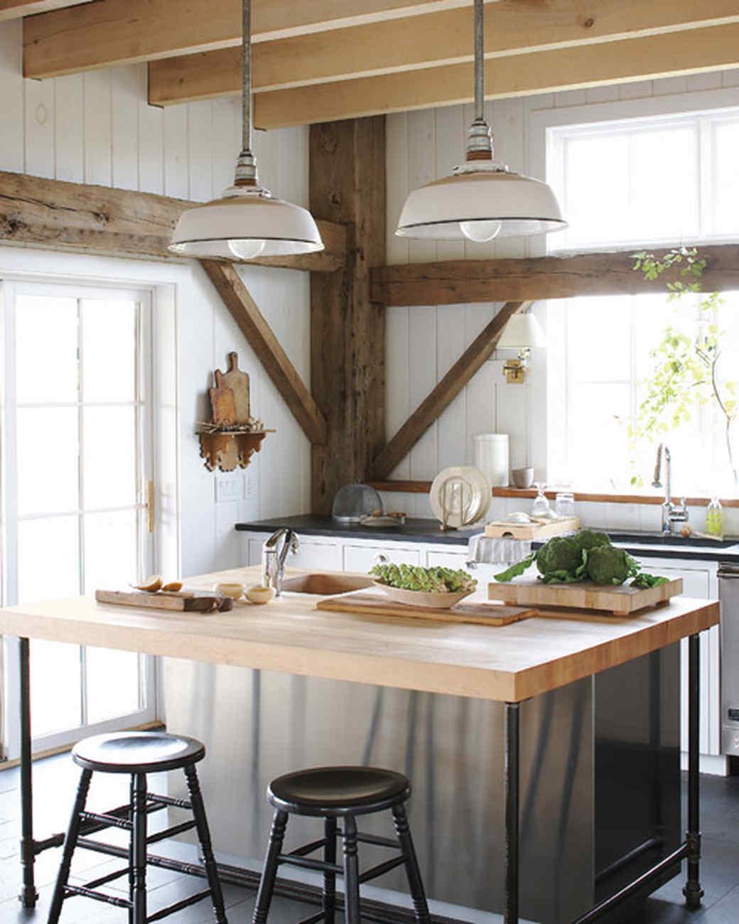 martha stewart kitchen island Our Favorite Kitchens   Martha Stewart