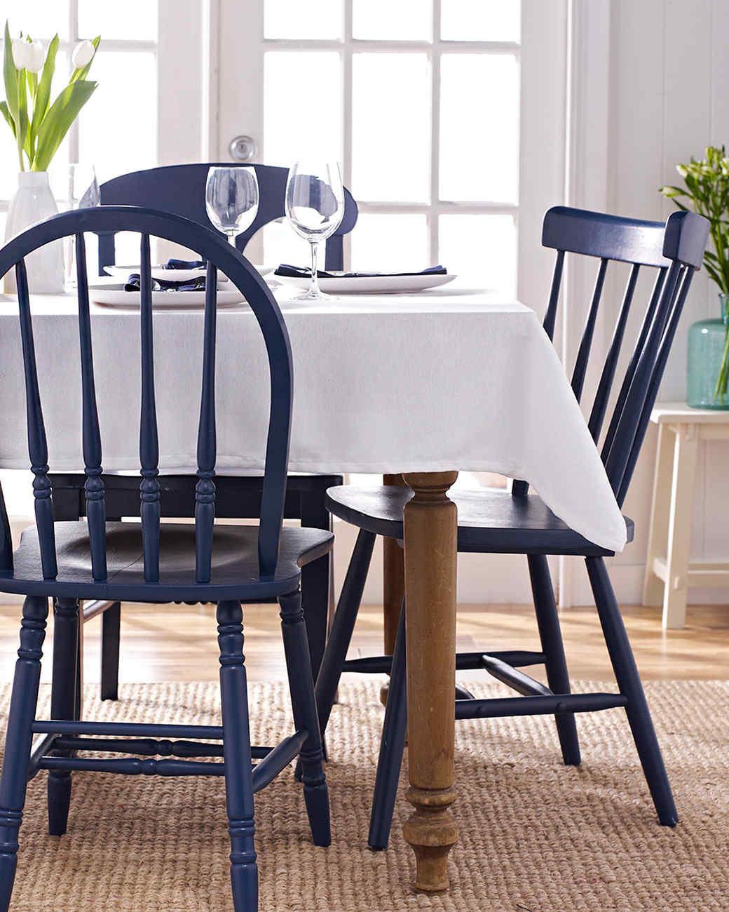 Painted Wooden Chairs  Martha Stewart