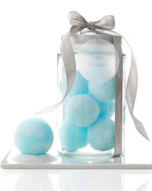 Alternative Gift Ideas for Christmas Martha Stewart Snowball Bath Bombs Gifts For Her Bath Time Bathtub Hanukkah DIY Present