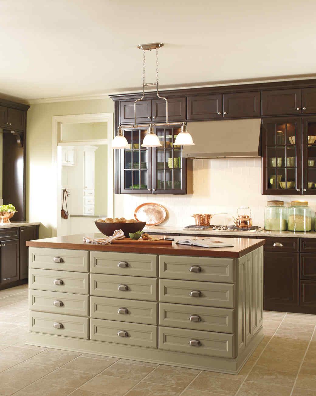 martha stewart kitchen island Martha Stewart Living Kitchen Designs from The Home Depot