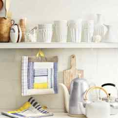 Martha Stewart Kitchen Towels Concrete Floor Quilted Potholders With Inside Out Quilting Technique