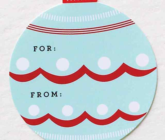 Holiday Gift Tags Labels And Clip Art You Can Use Right Now Martha Stewart