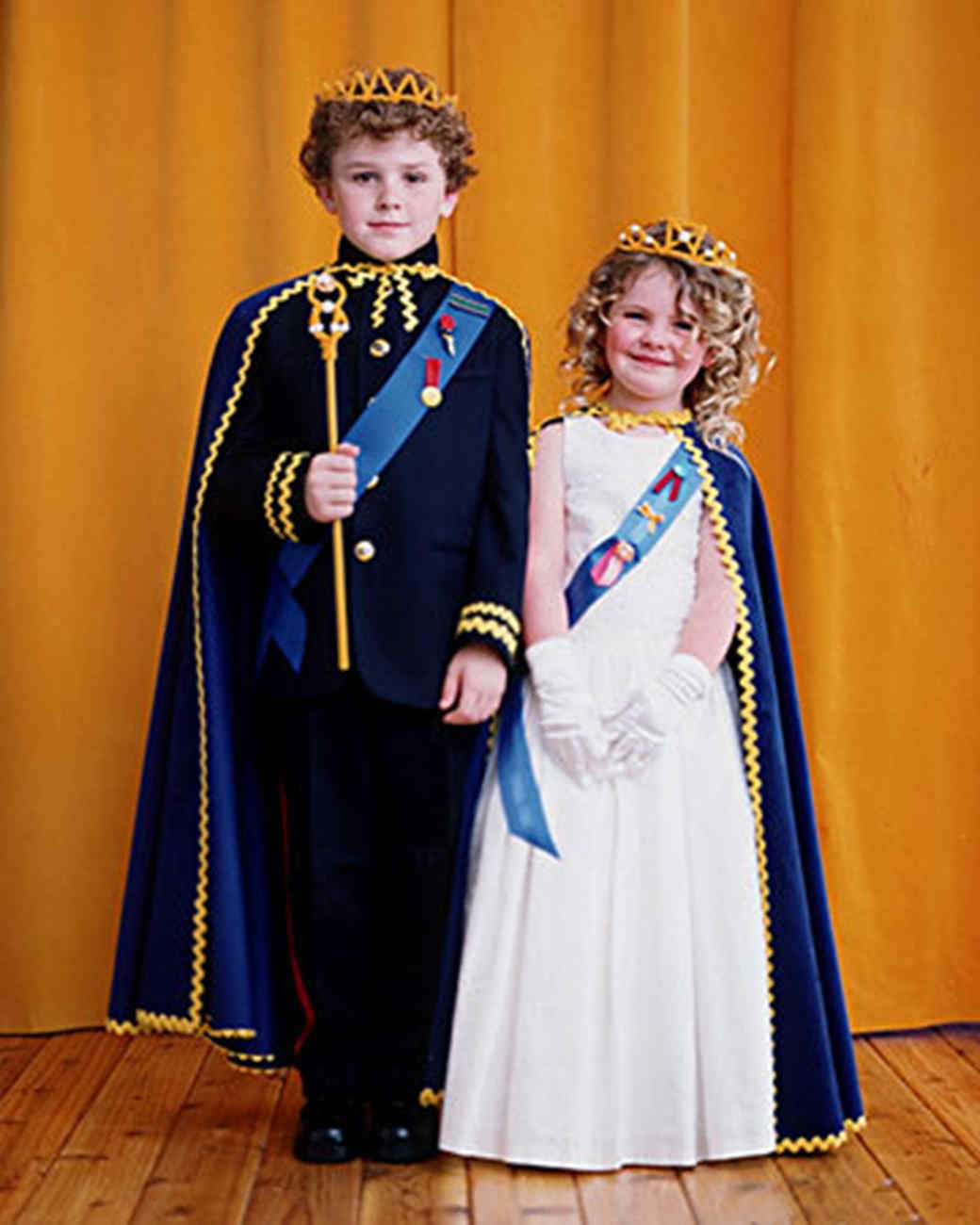 His And Her Royal Highness Costumes Martha Stewart