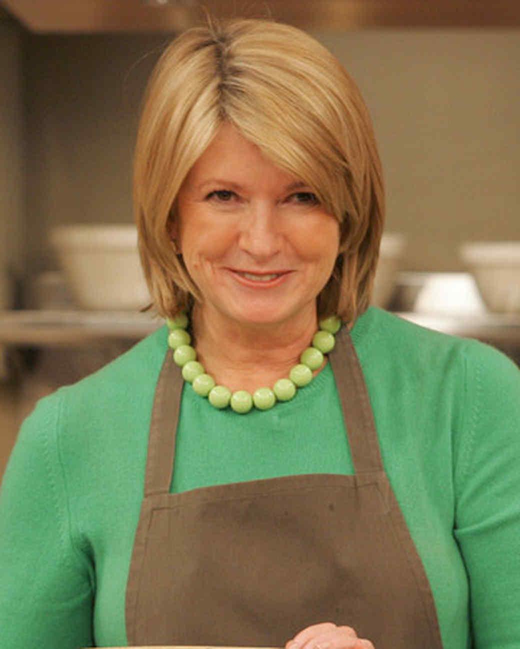 The Martha Stewart Look Book Hairstyles Martha Stewart