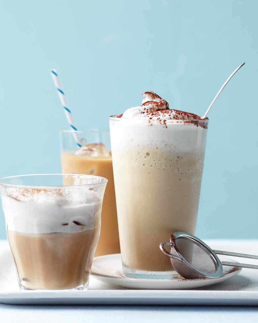 Iced Cappuccino Recipe  Martha Stewart