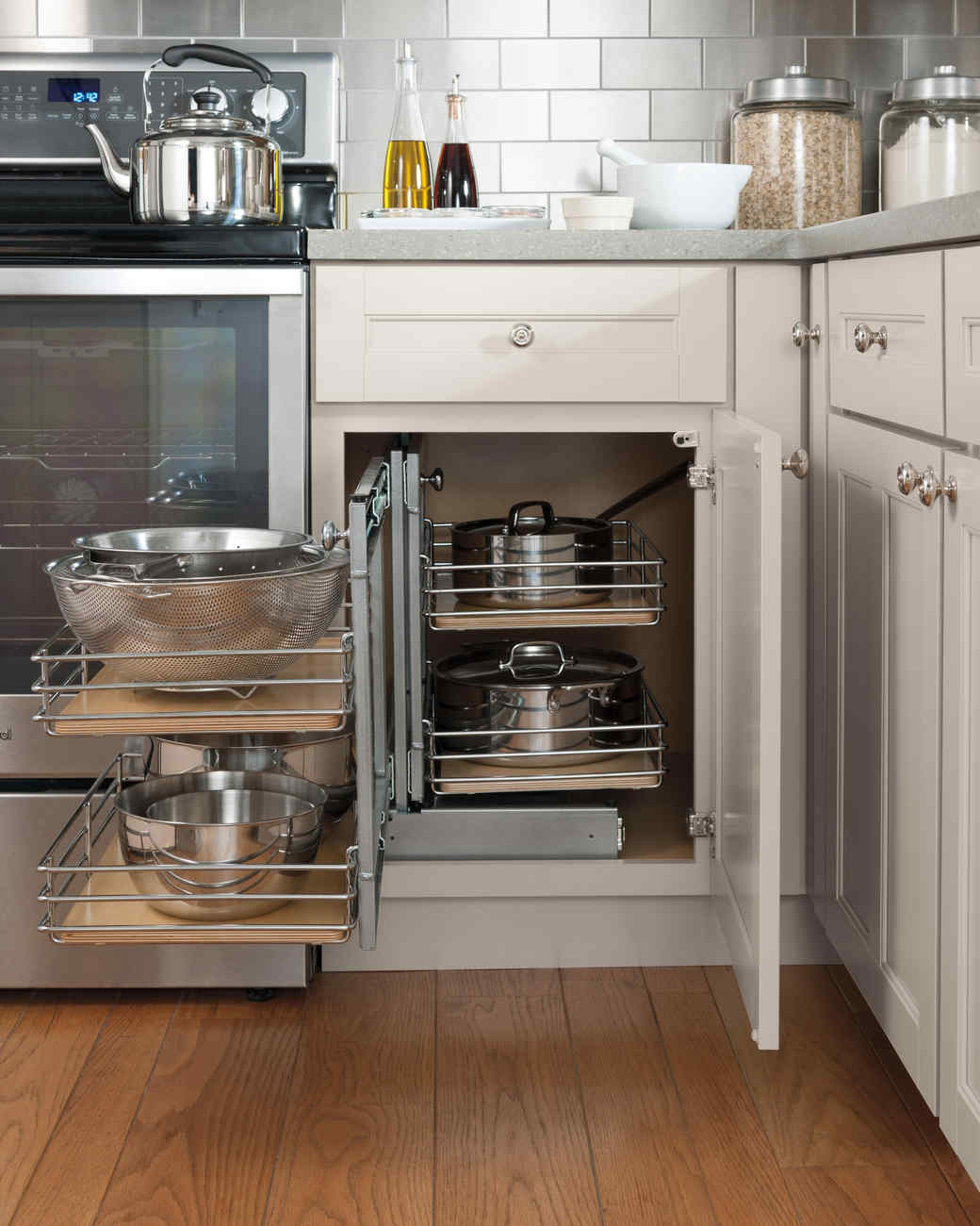 Kitchen Storage Ideas for the Chef Extraordinaire  Martha Stewart