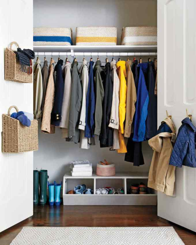 Image result for coat closet