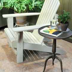 Painted Adirondack Chairs Chair With Canopy Painting Video Martha Stewart