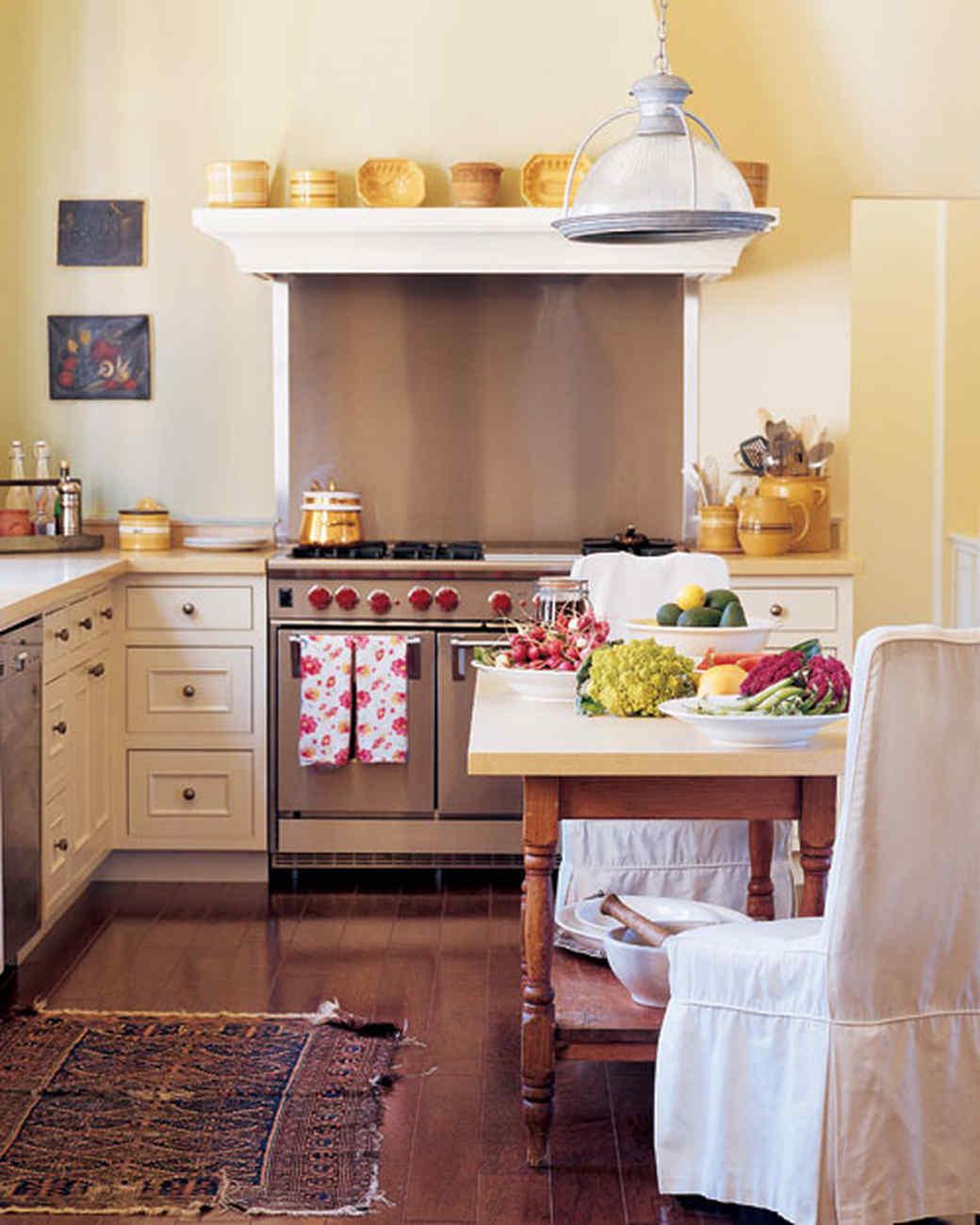 beach house kitchen backsplash ideas faucet handle 华丽厨房之旅玛莎 斯图尔特 澳门金沙 一张很棒的桌子