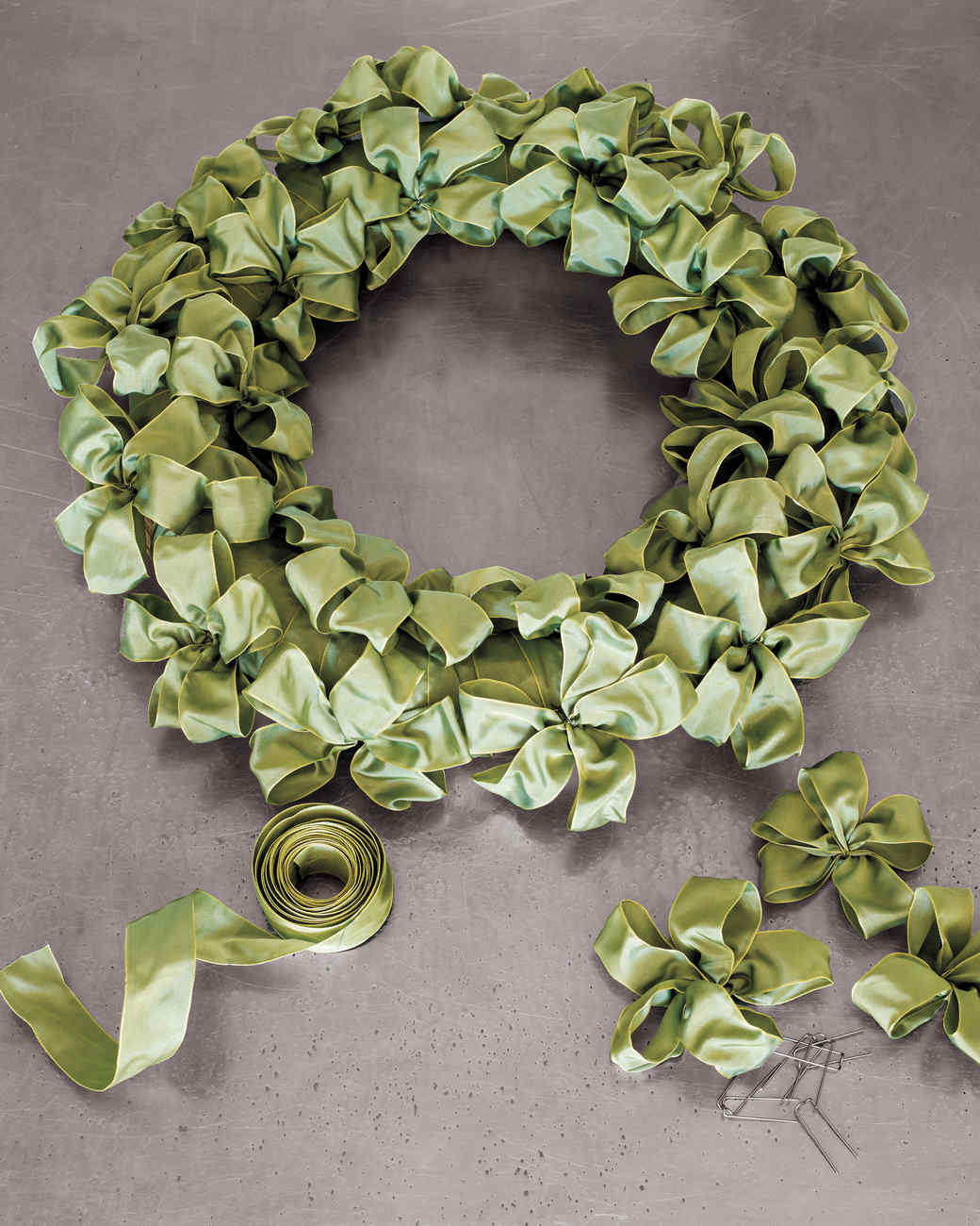 Ribbon Wreath Martha Stewart