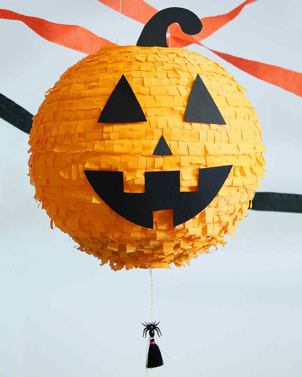 Halloween Pumpkin Piata Martha Stewart
