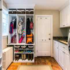 Bottom Kitchen Cabinets Chicago A Mudroom/kitchen Combo Gets Spotless Makeover | Martha ...