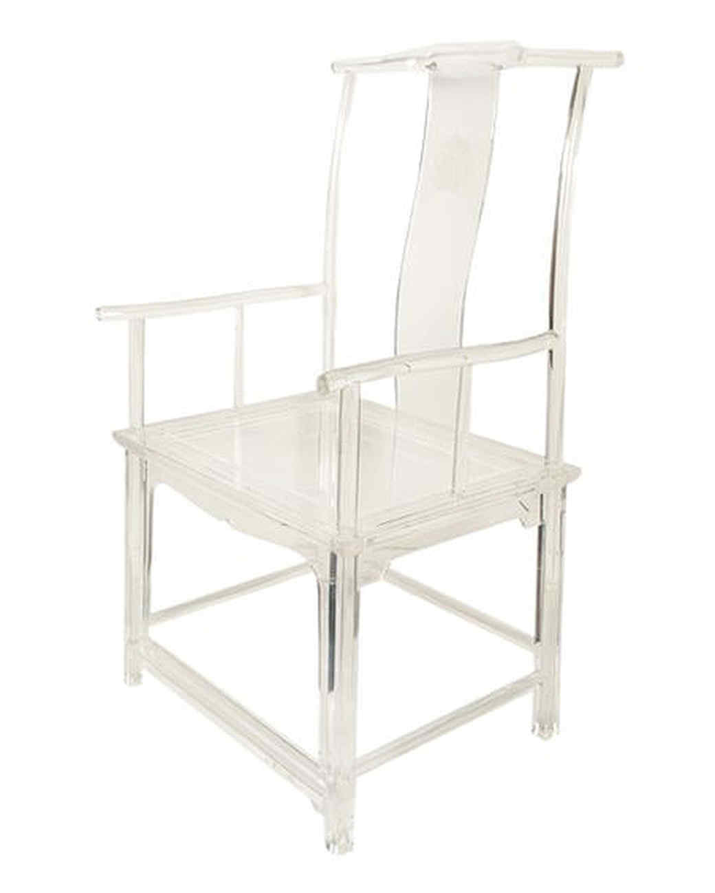 perspex hanging chair little tikes garden lucite furniture is back 15 cool pieces in the clear