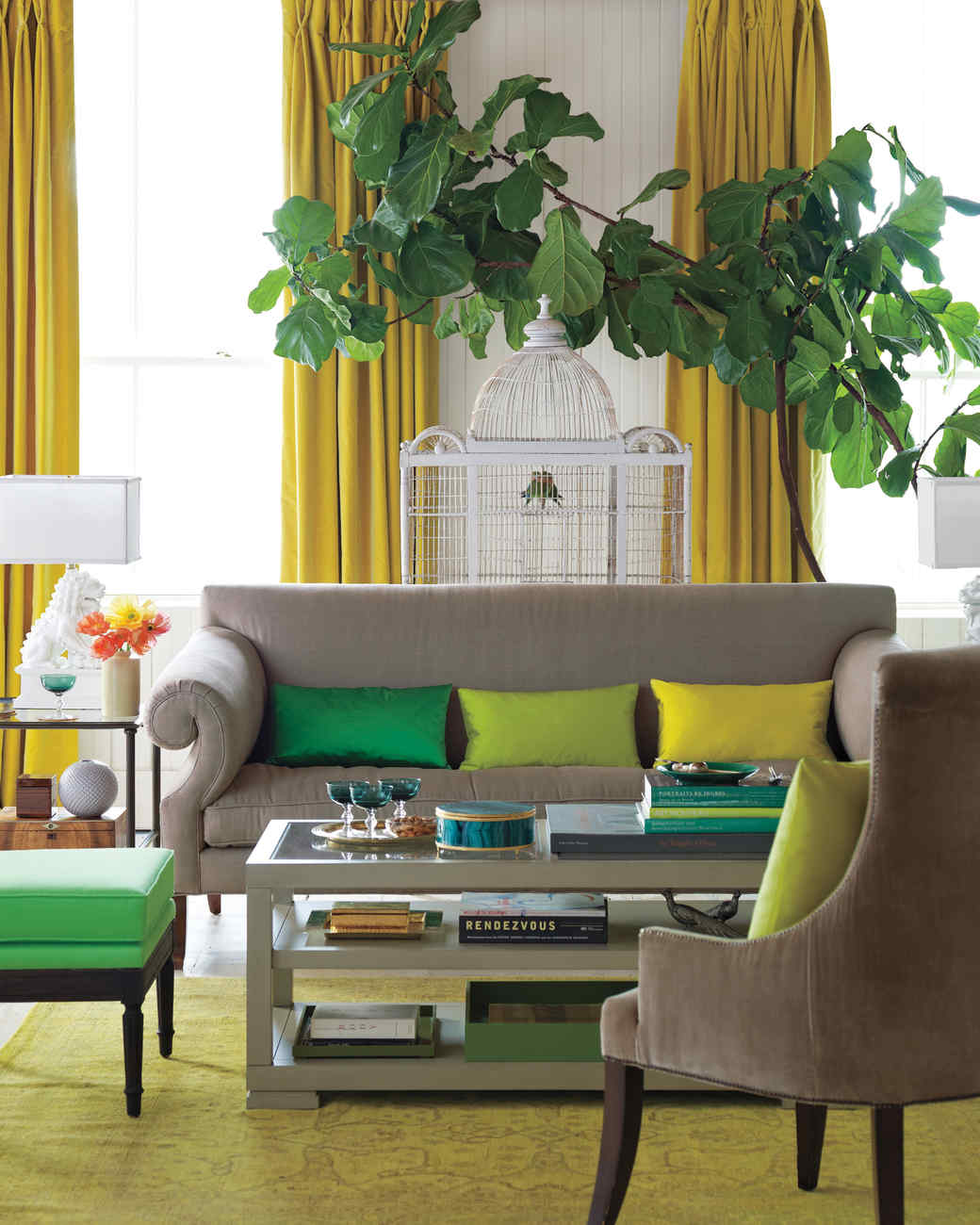 Color Blocking Decorating Ideas Martha Stewart