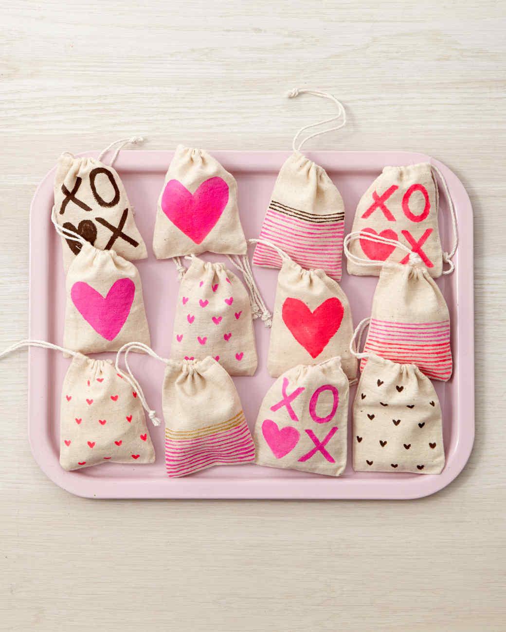 Valentine S Day Treat Bags Martha Stewart