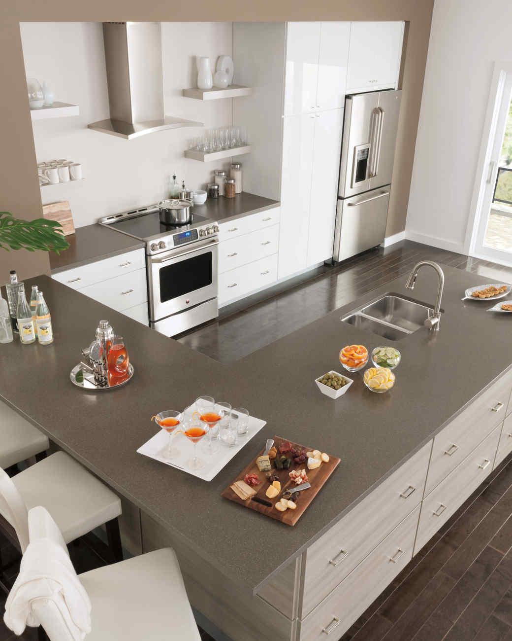 Kitchen Layout  Shape  Martha Stewart